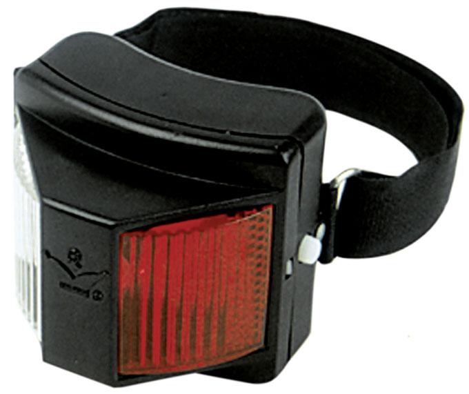 reflektor lampe safety rot wei kaltblutshop. Black Bedroom Furniture Sets. Home Design Ideas