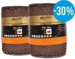 Gallagher Duopack TurboLine Cord 500m, terra